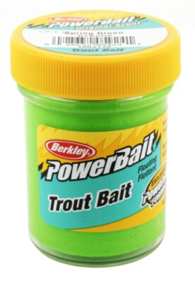Berkley Powerbait Biodegradable Troutbait - Spring Green Twin Pack-50g