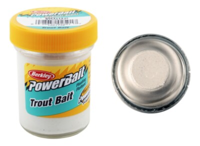 Berkley Powerbait Biodegradable Troutbait- Marshmellow Twin Pack-50g