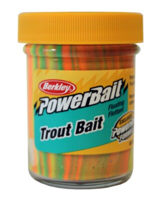 Berkley Powerbait Biodegradable Troutbait- Rainbow Twin Pack-50g