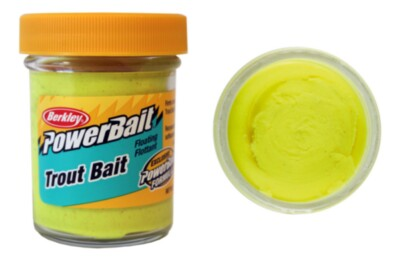 Berkley Powerbait Biodegradable Troutbait - Sunshineyellow Twin Pack-50g