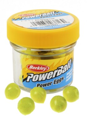 Berkley Powerbait Sparkle Floating Magnum Eggs - Chrts Twin Pack-14g