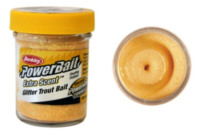 Berkley Powerbait Select Glitter Troutbait - Salmon Egg Twin Pack-50g