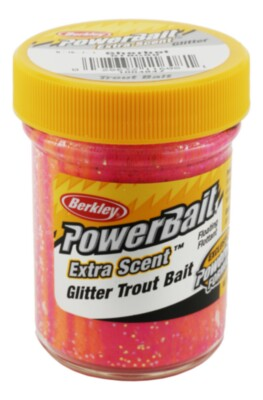 Berkley Powerbait Select Glitter Troutbait - Sherbet Twin Pack-50g