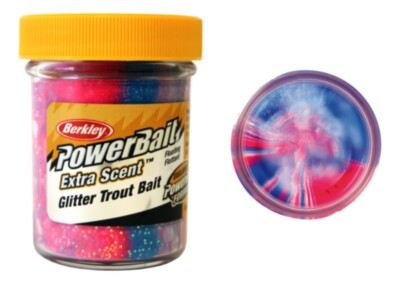 Berkley Powerbait Select Glitter Troutbait - Captain America Twin Pack-50g