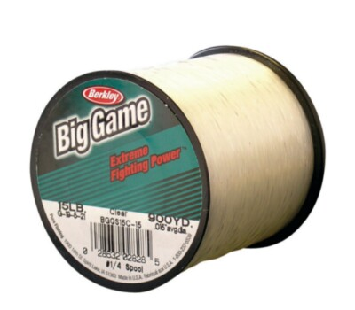 Berkley Mono Big Game Ultra Clear Line 25lb. 0.48mm. 595yds
