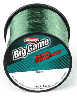 Berkley Mono Big Game Green Line 50lb. 0.71mm. 275yds