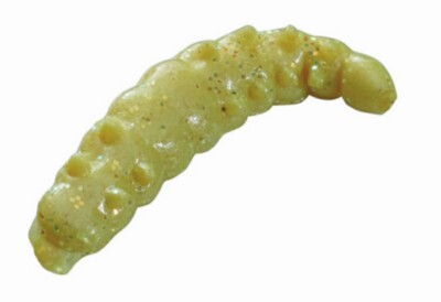 Berkley Powerbait Honey Worms  -yellowscales Twin Pack -55pack