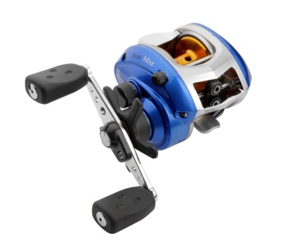 Abu Garcia Multiplier Reel - Bluemax Lowprofile Box