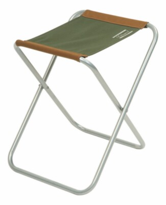 Folding Stool Brown/green