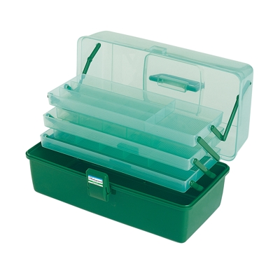Shakespeare Deluxe Tackle Box  - 3 Tray