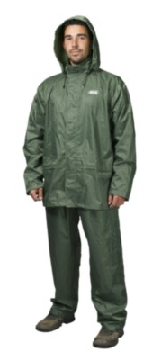 Mitch 2piece Rainsuit Green S