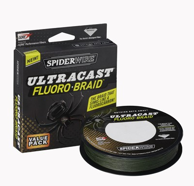Spiderwire Ultracast Fluorobraid - 125 Yds - 40lb