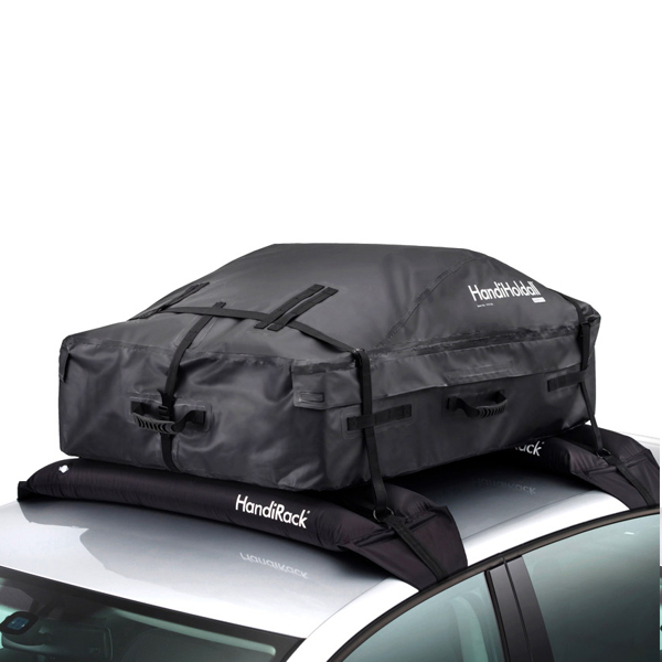 HandiHoldall - easy to store foldable roof box - New Larger Size !