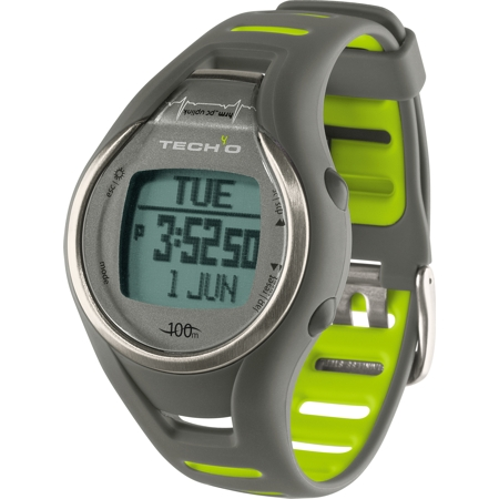 Tech4o Accelerator Pro Trainer Plus Watch - Grey/lime