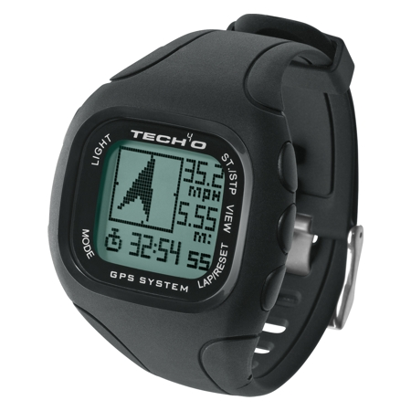 Tech4o Discover Gps Watch - Black