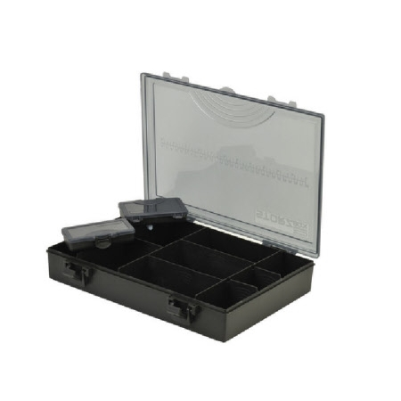 Shakespeare Storz Accessory Tackle Box Black Medium