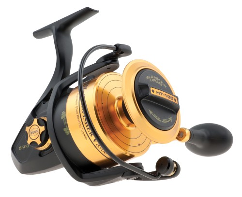Penn Spinfisher Ssv8500 Front Drag Spin Reel - 20lb - Black