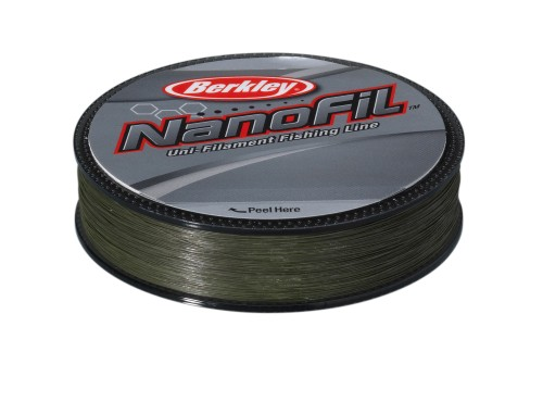 Berkley Nanofil Enf12517-22 0.17mm Lo Vis Fishing Line 125 M - Green