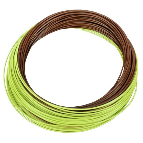 Shakespeare Agility Fly Line - Med Sink Wf7 - Brown/green