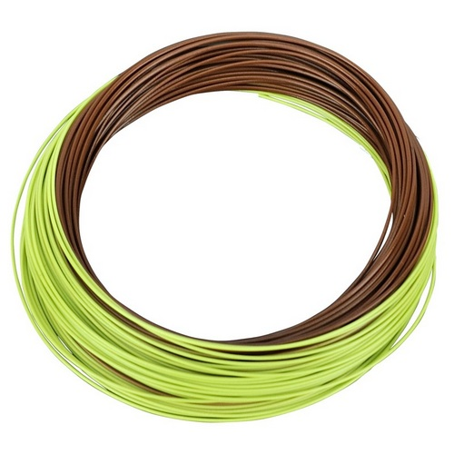 SHAKESPEARE(F) Shakespeare Agility Fly Line - Med Sink Wf8 - Brown/green