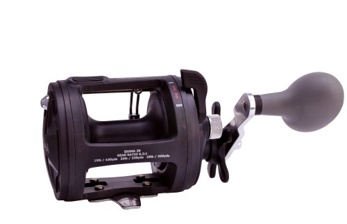 Shakespeare Sigma Multiplier Reel 30 Lb - Black
