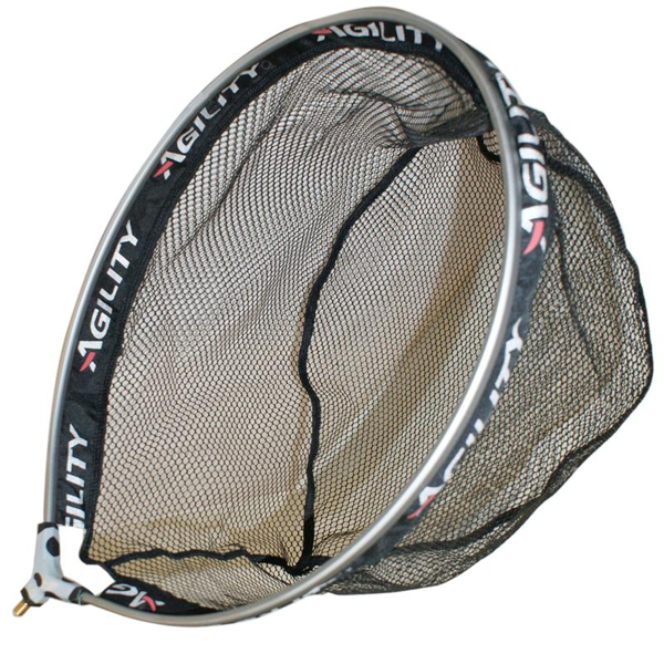 Shakespeare Agility Large Landing Net  - Black