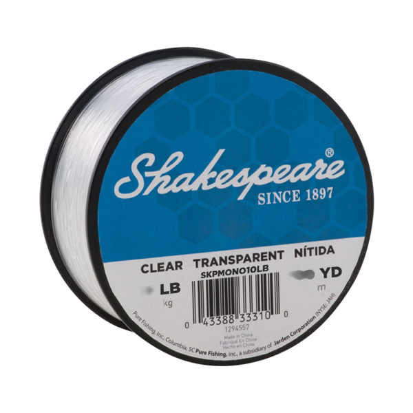 Shakespeare Bulk Bulk Mono Clear Line 250 yds 30 lb - Transparent