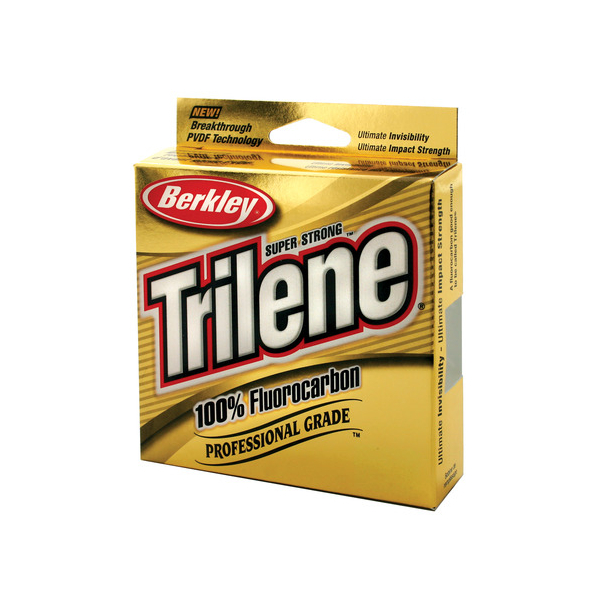 Berkley Trilene Fluorocarbon - Clear - Breaking Strain: 4 lb (0.17mm). Length: 200 yd