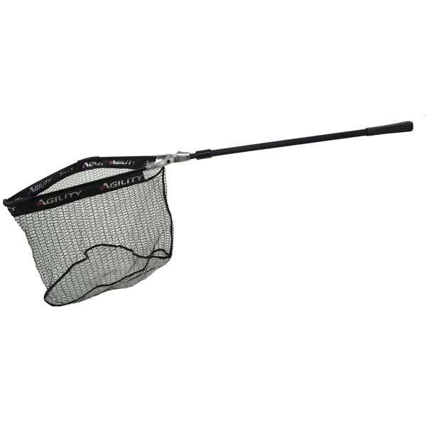 Shakespeare Agility Large Trout Net  - Black