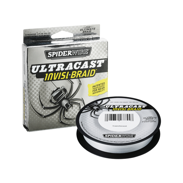 Spiderwire Ultracast Invisi-Braid - Breaking Strain: 50 lb (.38 mm). Length: 300 yd