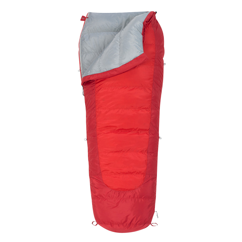 Kelty Coromell Down 20° Sleeping Bag - Rh - Chili Pepper