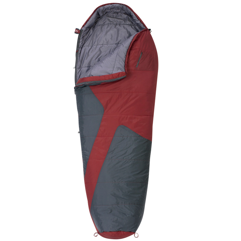 Kelty Mistral 20° Sleeping Bag - Rh Regular - Brick Red