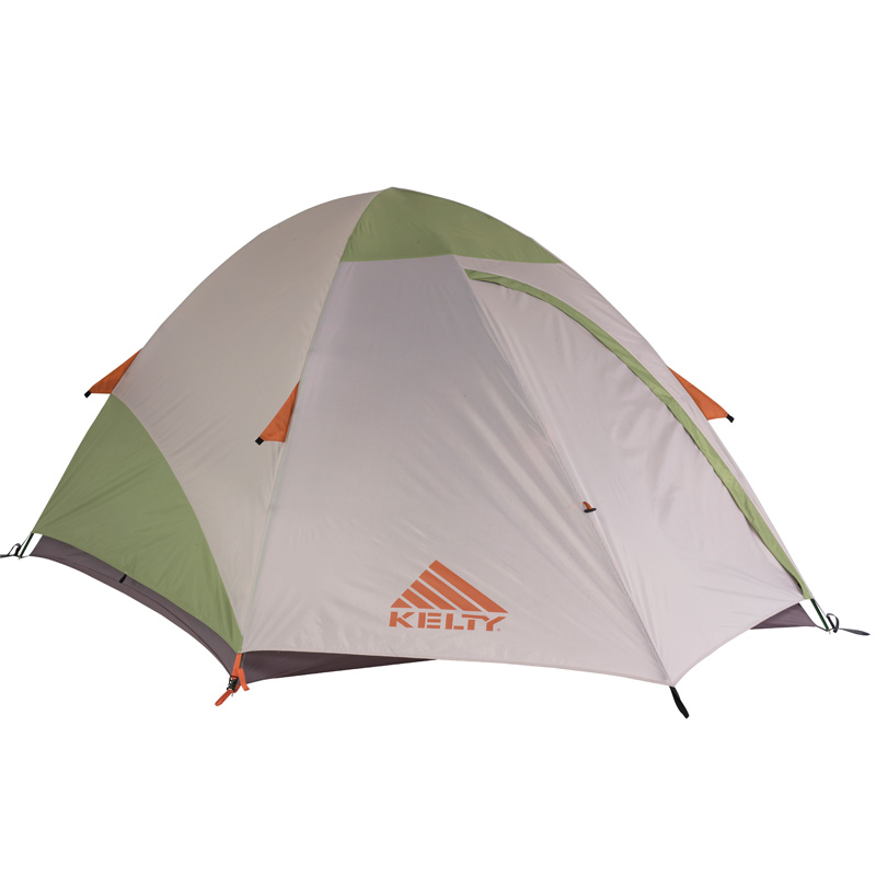 Kelty Grand Mesa 4 4 Person Tent - Cool Grey/putty/apple Green