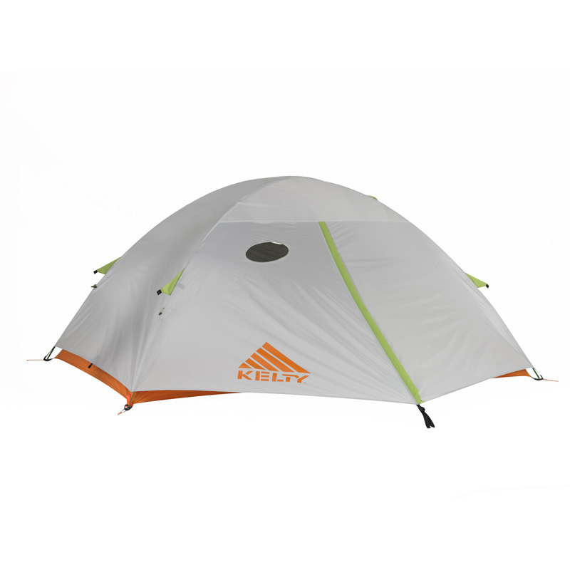 Kelty Gunnison 1.2 1 Person Tent - Grey/orange/apple Green