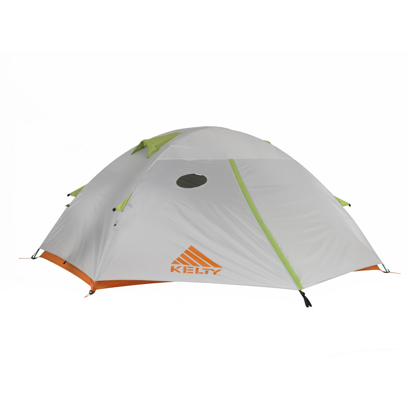 Kelty Gunnison 2.2 2 Person Tent - Grey/orange/apple Green
