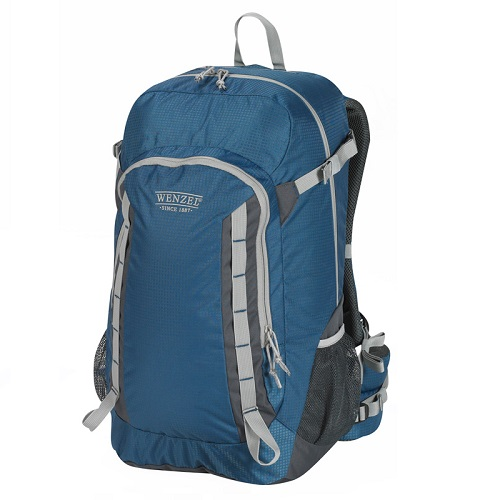 Wenzel Getaway Panel Load Backpack 40 Litres - True Blue