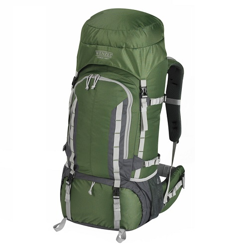 Wenzel Escape Backpack 65 Litres - Forest Green