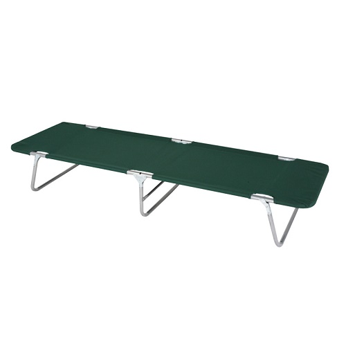 Wenzel Camp Cot - Green